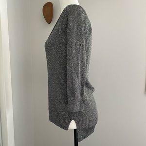 Club Monaco Deep V Sweater/tunic XS